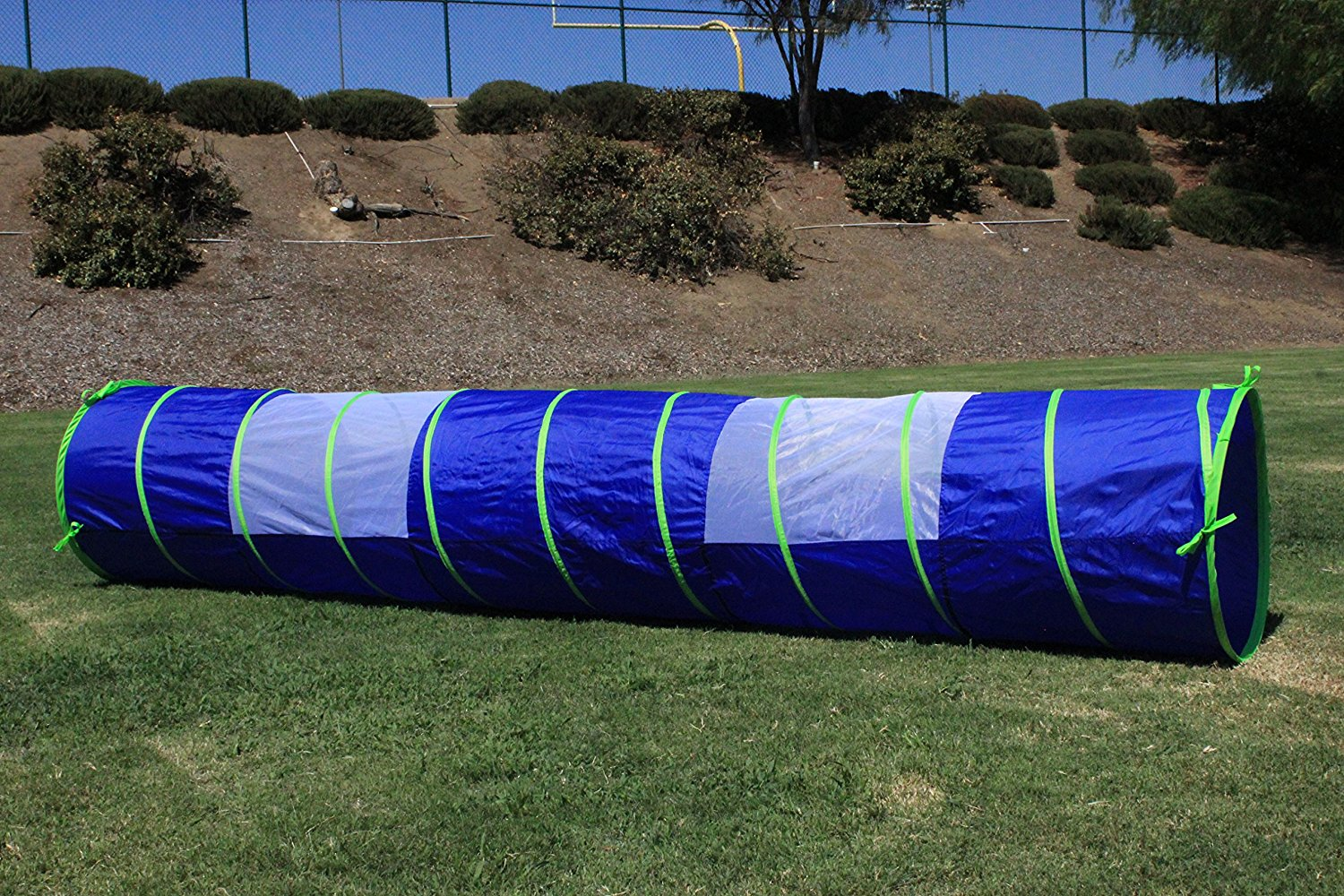 32c3c9765515 G3Elite Blue 11' Play Tunnel With Bag, Indoor/Outdoor, For Kids -  Boys/Girls, Also Great For Pets, Fast And Easy Set-Up/Fold-Up, Childrens  Portable ...