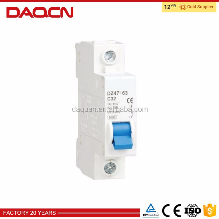 China Manufacturer Durable Minature Circuit Breaker