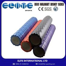 ELITE-ECO Friendly Promotional Logo Printed rumble foam roller pilates yoga