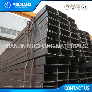 wholesale ms black 10x10mm rectangular steel pipe