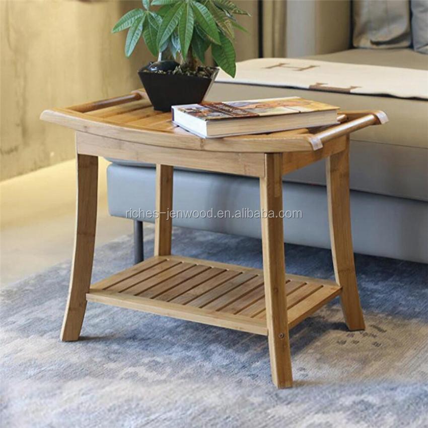 2 Tier Bamboo Shower Seat Shaving Stool - Buy Bamboo Shower Seat ...