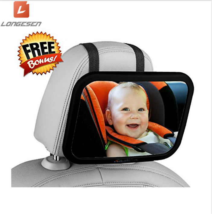 Universal Baby Chair Safety Backseat Rear View Observe Mirror