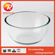 heat resistant glass bowl for microwave oven mixing bowl/glass bowls