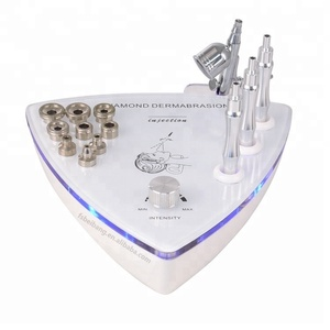 Skin dermabrasion microdermabrasion machine facial diamond peeling machine 9 diamond tip and 3 wands