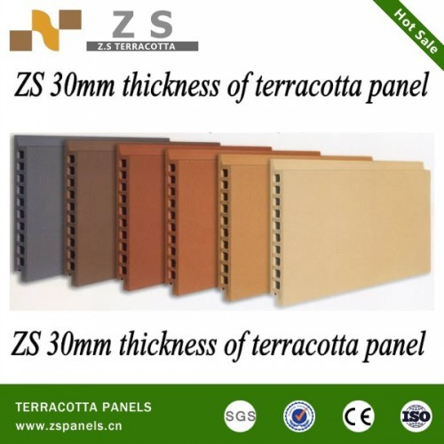 Terracotta Panels Clay Tiles Cladding Panel For Curtain