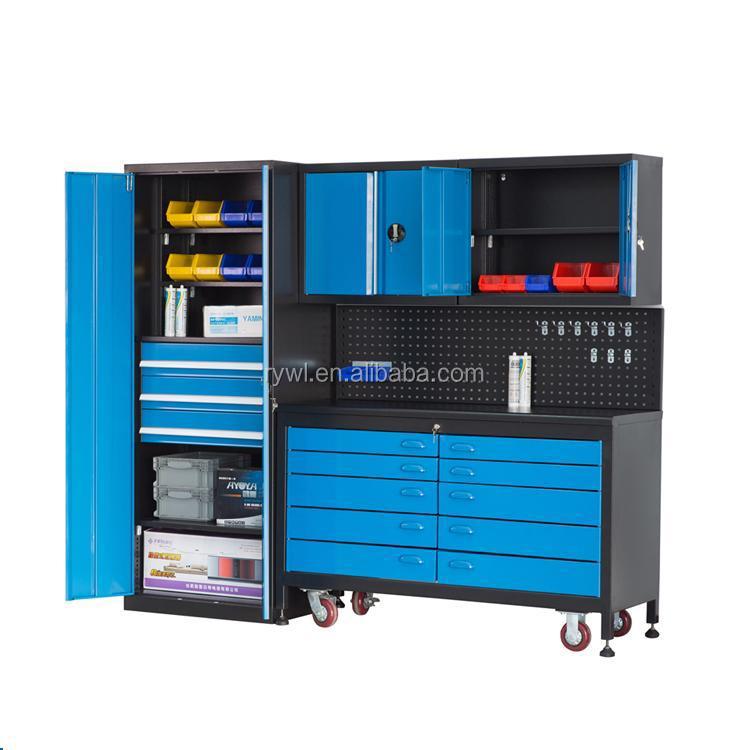מתקדם תליית חפצים מוסך ארון קיר ארגז כלים רולינג מערכת ספסלי עבודה-ארון GK-96
