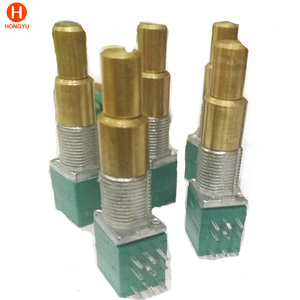 9mm dual concentric shaft 250K rotary potentiometer
