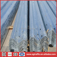 Highway Guardrail/Road Crash Barrier/Road Safety Guardrail China supplier