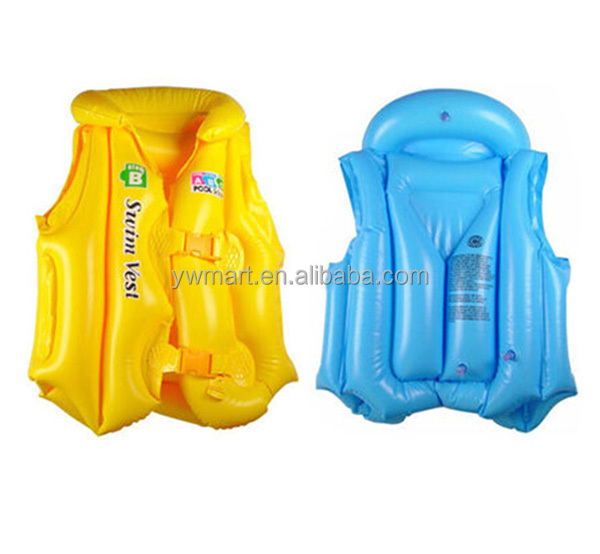 Eco friendly inflatable inflatable life jacket for children