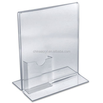 Clear A40 Brochure Display Holder Custom Stand Up Acrylic Paper Enchanting Acrylic Brochure Display Stands