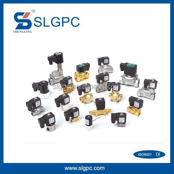Sold to EMC pneumatic industrial SL series two way directional vavle  solenoid valve 12v water