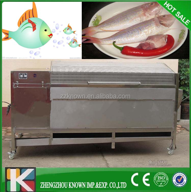 Fish processing equipment/Fish Descaler cleaning Machine /Fish Scale Removing Machine