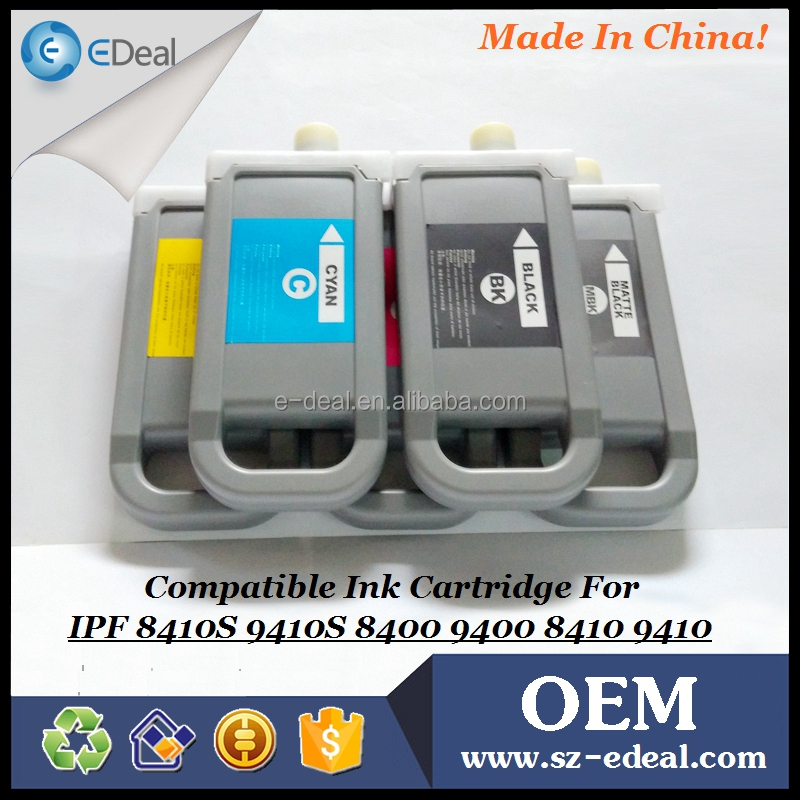 Full cartridge for Canon ipf8400 ipf9400 compatible ink cartridge