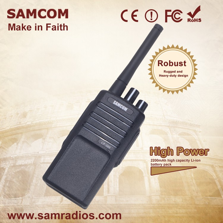 SAMCOM CP-500 Communications Long Range Two Way Radio