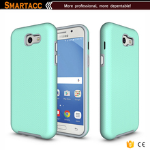 Dual Layer Silicone Rubber Armor Defender Fashion Phone Case For Galaxy J3 2017