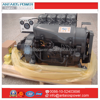 Deutz F4l912 Diesel Power Unit Buy Air Cooled Diesel Engine 4 Cylinder Engine With Control Panel Deutz 912 Engine With Clutch Product On