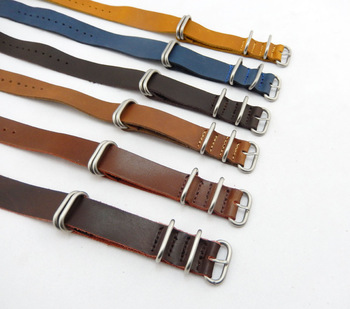 f8148915f supply PVD hardware thin leather nato watch straps and zulu watch straps  manufacturer