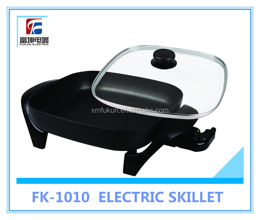 Electric Heating Pans with Tempered Glass