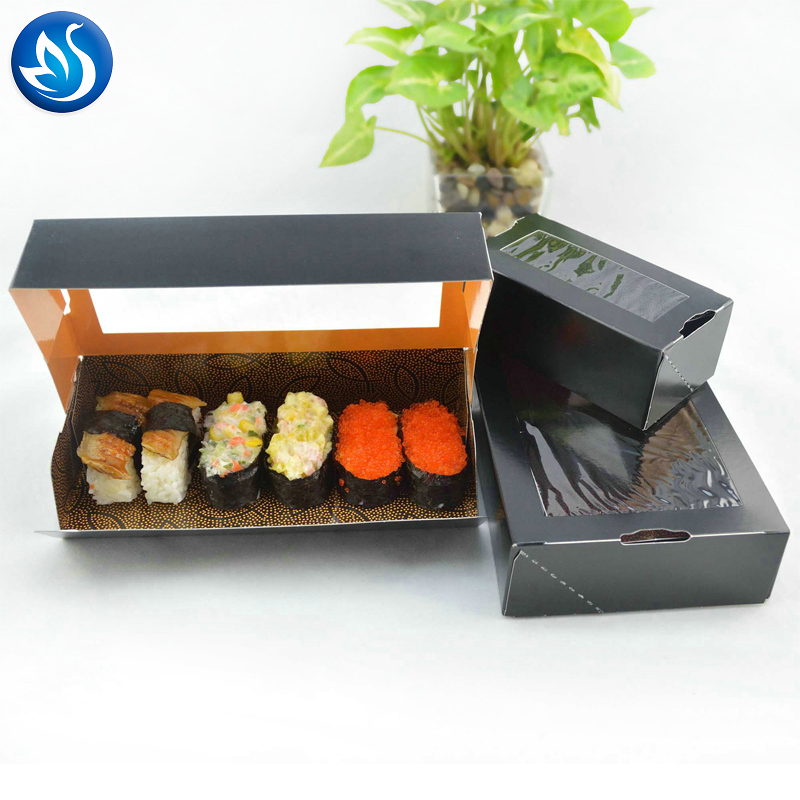 Professional Made Take-out Custom Printed Food Sushi Packaging Box