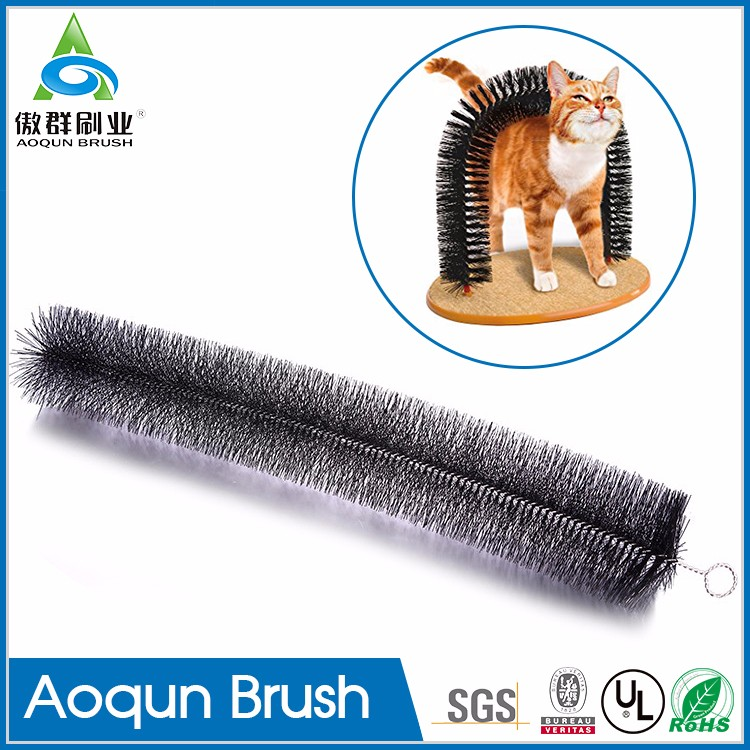 Accept OEM&ODM cat door arch brush,toy arch brush