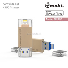 MFI Approval gmobi istick Type-C hub san disk flash drive bulk 1gb usb flash drives
