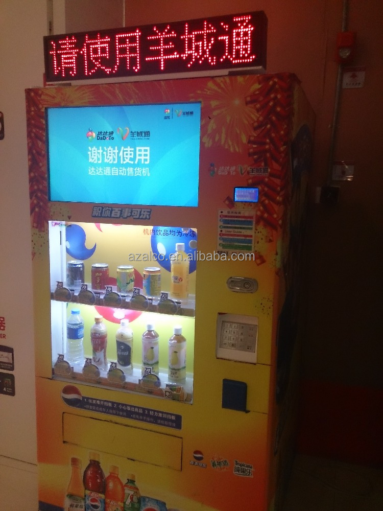 Custom Made Mulit-function automatic Cold Drink Vending Machine/Soda Vending Machine