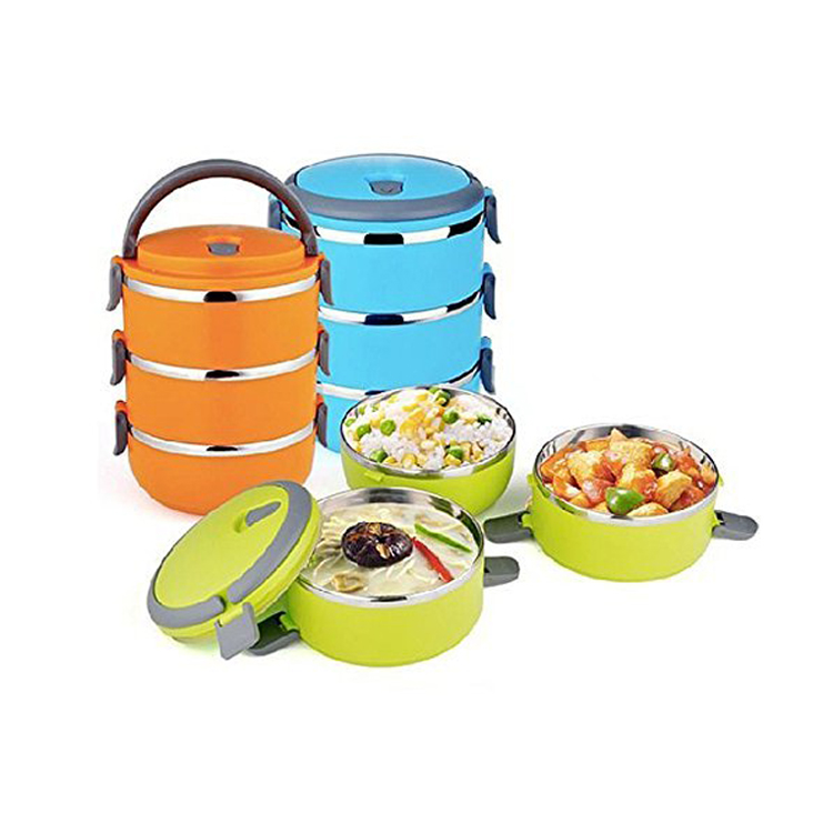 Staal lunchbox rvs thermo lunchbox, ss lunchbox