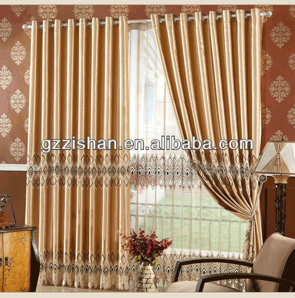 prueba de sol cortinas para la sala