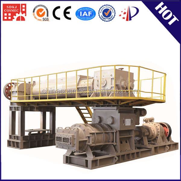 German technology automatic clay brick production line with bamboo pallet for block machine