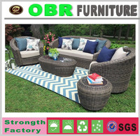 Outdoor wicker Hotel furniture rattan garden furniture sofa furniture