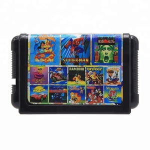 67/32/18/13/11/ 8 in 1 cartridge for 16bit Sega Mega Drive for Family Video Game Console Player