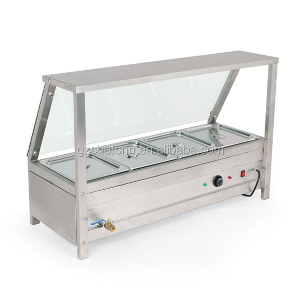 Restaurant Bain Marie/Stainless Steel Counter Top With 5 Pan Restaurant  Bain Marie