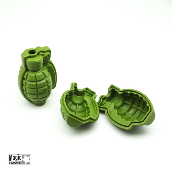 Special Shape Creative 3D Ice Tray Silicone Mold Bar Ice Maker - GREEN