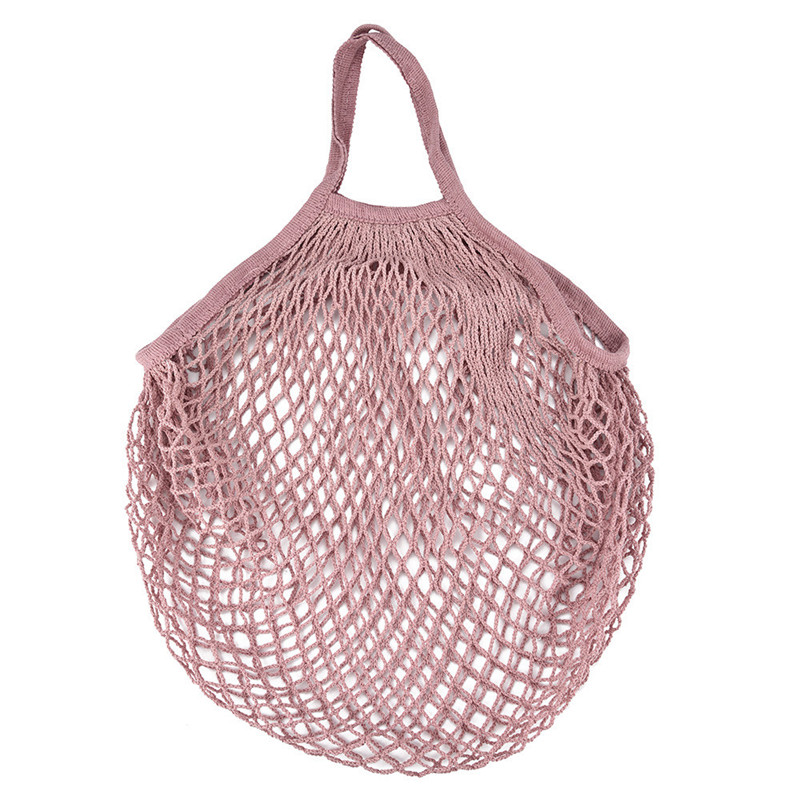 Summer popular retail product cotton net shopping carry bags