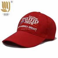 Cheap Price 6 panel embroidery cotton Trump 2020 Make America Great Again election Donald Daddy caps and hats