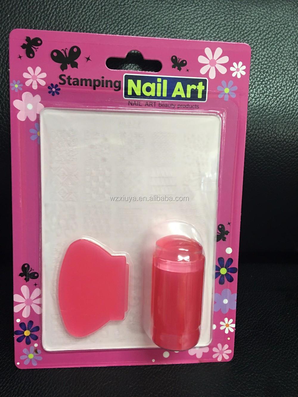 Acrylic Plate Stamping Nail Art Kit Buy Stamping Nail Art Set