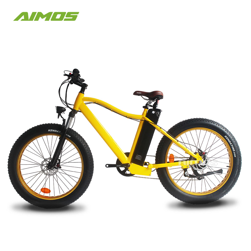 "AIMOS 26"" 48V 750W Mountain Exercise Electric Bike Fat tyre Beach electronic bike/bycicle/ebike"