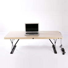 ergonomic rising & lowering sit to stand up laptop computer desk