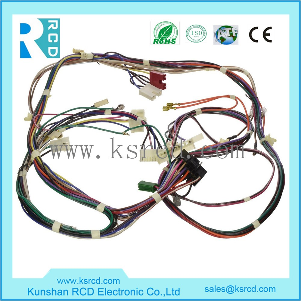 Oem odm rohs iso electrical custom wire harness designing