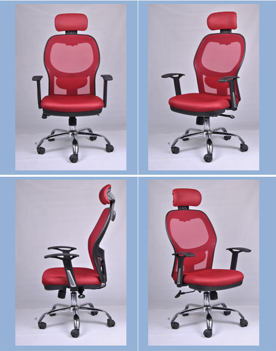 Bureaustoel Met Verstelbare Rugleuning.Muebles De China Verstelbare Rugleuning Mesh Personeel Bureaustoel