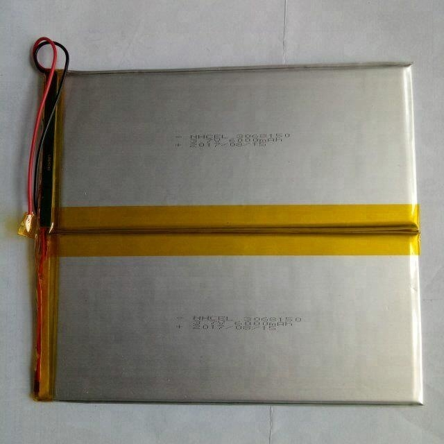 Cheap price 357595 3.7v 6000mah lithium polymer battery for tablet pc