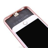 New products 2017 innovative product bulk quantity production for iphone 7 battery case 3600mah with small MOQ