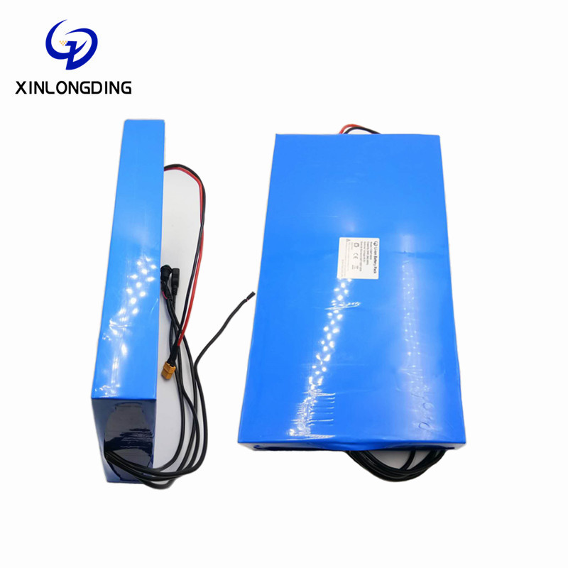 XLD Lithium ion battery pack 12v 24v 36v 48v 60v 72v electric scooter li ion 36v battery