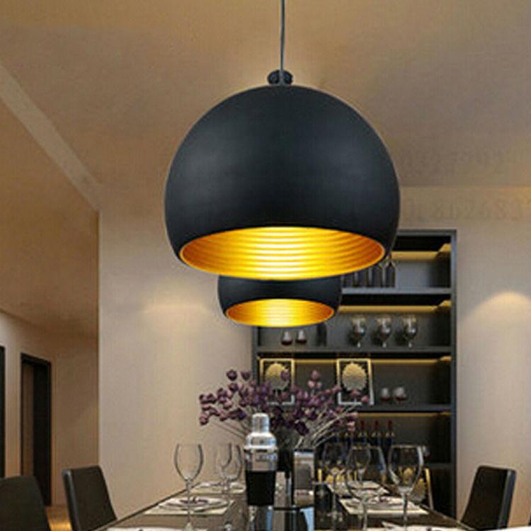 Ikea Creativo E27 Moderna Bianco Nero Lampada A Sospensione Led