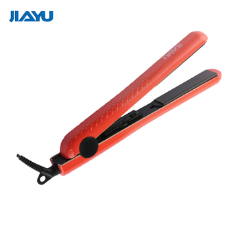 Dual voltage hair straightener flat iron ceramic LED display