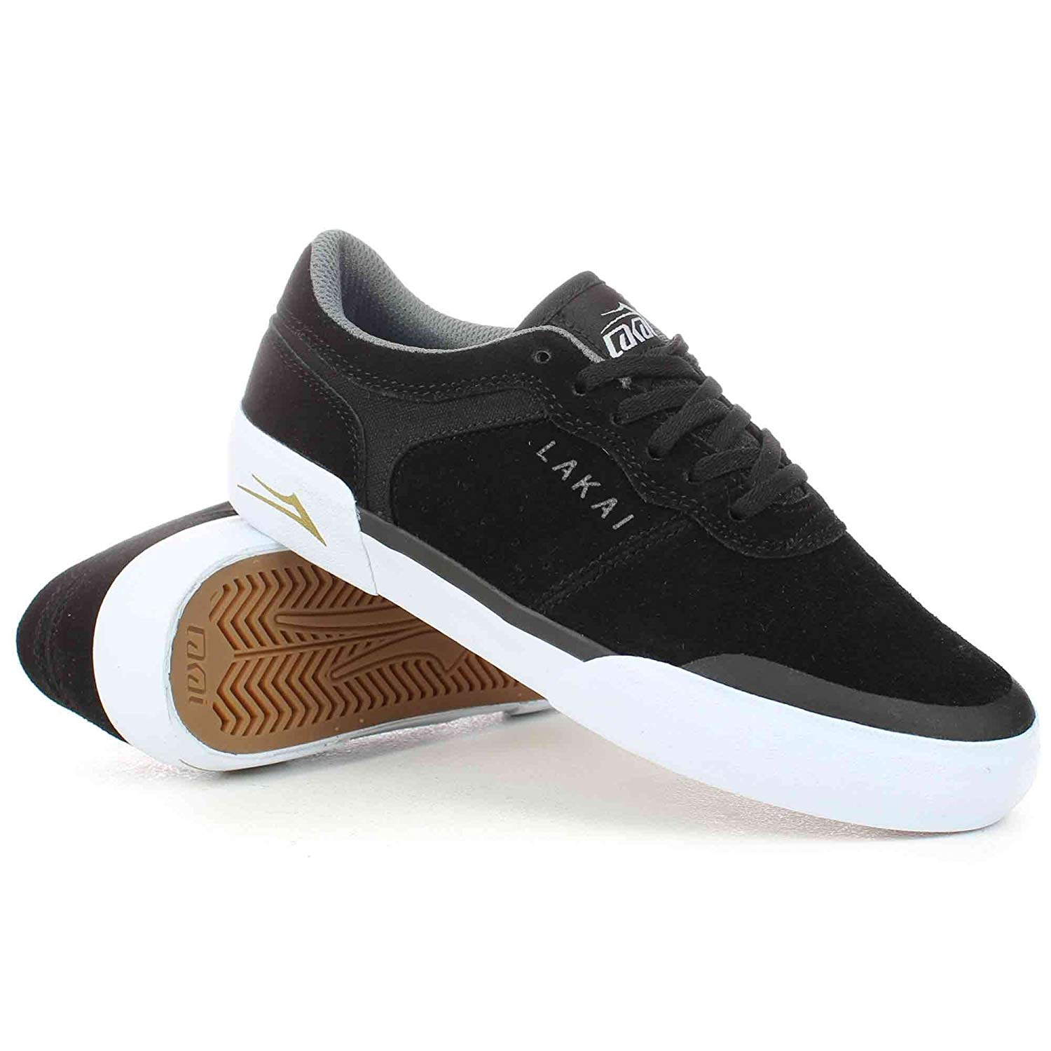 Get Quotations · Lakai Staple Shoes in Black Suede 496e168bb