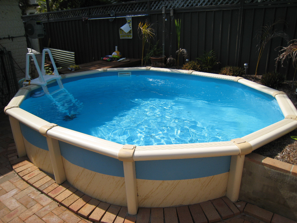 jackbo piscina productos bestway por encima de las
