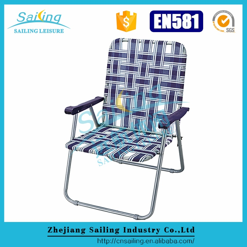 Sailing Leisure Luxury Aluminum Webbing Vintage Lawn Chairs