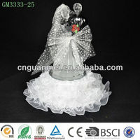 2014 new design led light changing glass wedding favors
