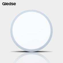 ultra slim round ceiling recessed panel light led ring lamp